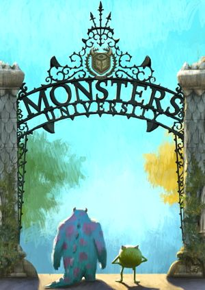 Monsters University's Sully and Mike enter campus