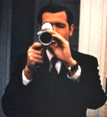 Richard Nixon aide photographs the president
