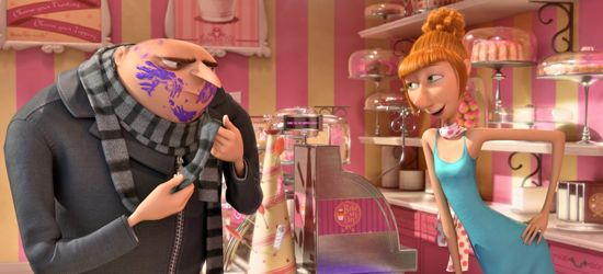 Despicable Me 2's Gru visits  Lucy's shop