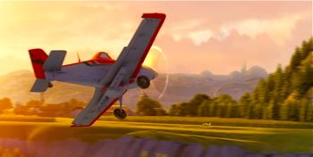 Dusty in Disney's Planes dusts crops