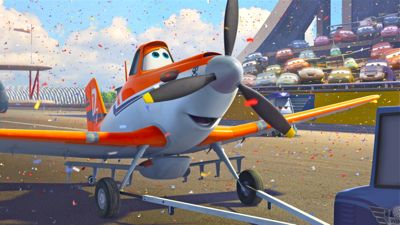 Disney's Planes has Dusty taxi onto racing runway