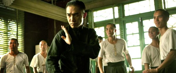 Tony Leung in The Grandmaster prepares to fight