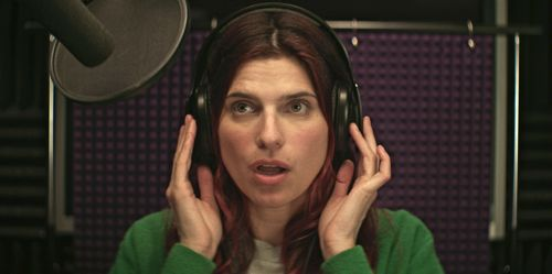 In a World's Lake Bell records a trailer voiceover
