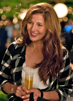 Enough Said's Catherine Keener enjoys a cocktail party