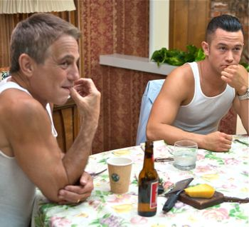Don Jon's Tony Danza sits at table with Joseph Gordon-Levitt