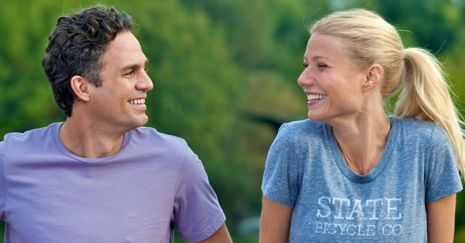 Thanks for Sharing's Mark Ruffalo and Gwyneth Paltrow grin at each other