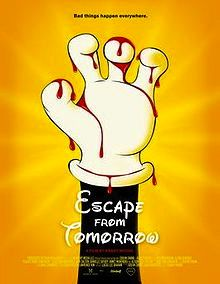 Escape From Tomorrow poster shows Mickey's bloody hand