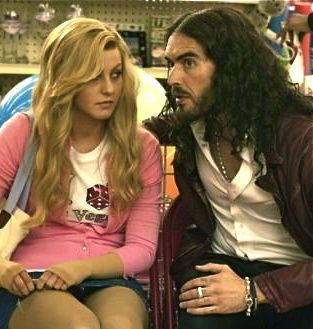 Paradise's Russell Brand sits and gives Julianne Hough sage advice