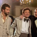 Stars of American Hustle celebrate in casino lobby