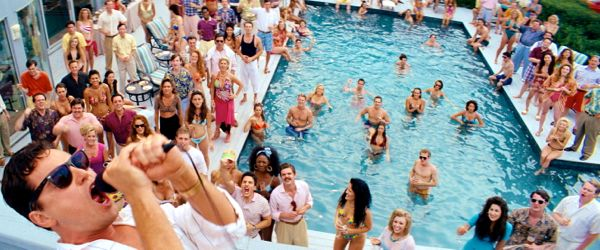 Wolf of Wall Street throws a giant swimming pool party