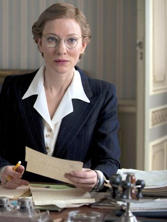 Monuments Men's Cate Blanchett studies document