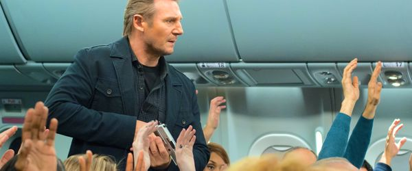 Non-Stop's Liam Neeson demands air passengers put hands up