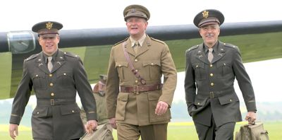 Monuments Men embark at airfield
