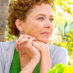 Face of Love's Annette Bening gazes off camera
