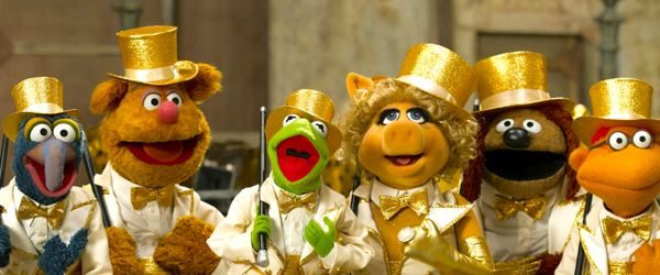 Muppets line up for chorus
