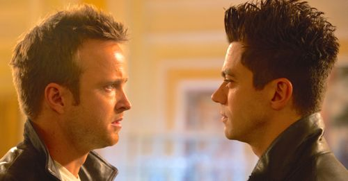 Need for Speed's Aaron Paul confronts Dominic Cooper