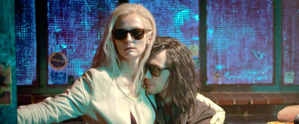 Only Lovers Left Alive's Tilda Swinton embracers Tom Hiddleston