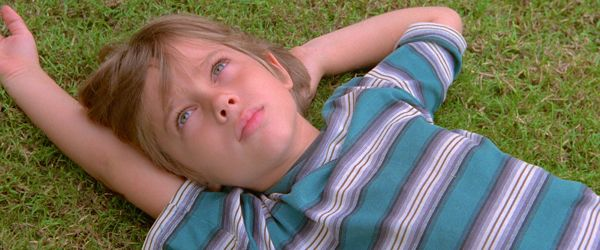 Boyhood's Ellar Coltrane as young boy gazes at sky
