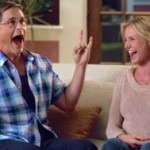 Sex Tape's Rob Lowe and Cameon Diaz explode in laughter on his couch