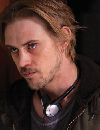 Walk Among Tombstones' Boyd Holbrook stares moodily off camera