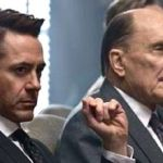 Judge's Robert Downey Jr., Robert Duvall at defense table in court
