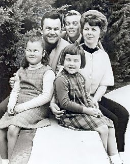 Hogan's Heroes' Bob Crane poses with his wife and three children