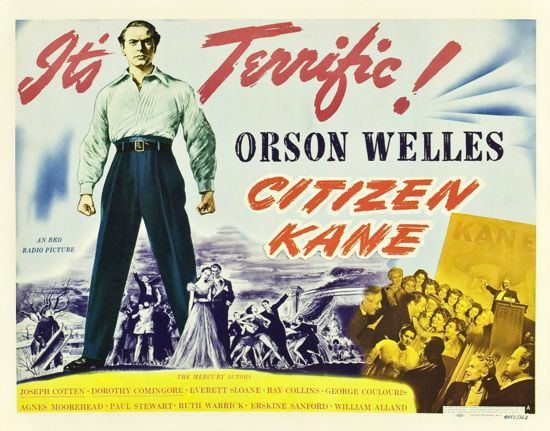 Citizen Kane color poster from film's release