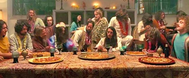 Inherent Vice stages mock Last Supper with '70s-era hippies