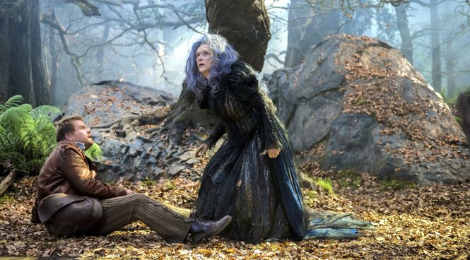 Into the Woods' James Corden and Meryl Streep confont each other in fairly tale woods