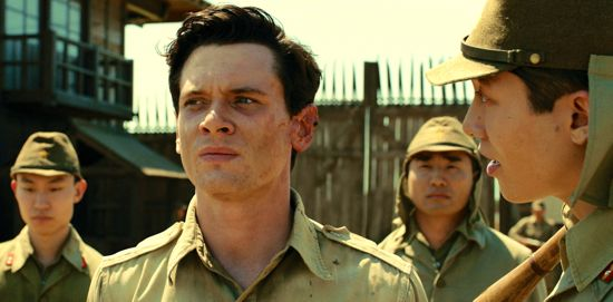 Unbroken's Jack O'Connell is tormented in POW camp by Miyavi