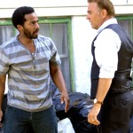 Black or White's Kevin Costner confronts Andre Holland in backyard