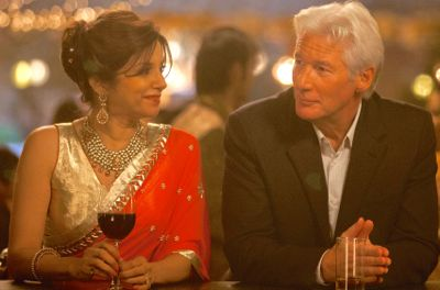Second Best Exotic Marigold Hotel's Lillete Dubey and Richard Gere share a drink at bar