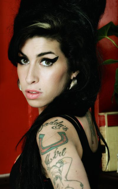 Singer-songwritere Amy Winehouse poses in publicity still