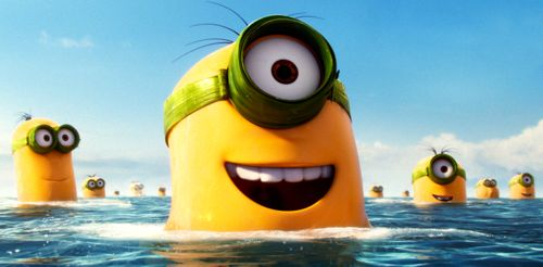 Minions emerge from sea to find dry land