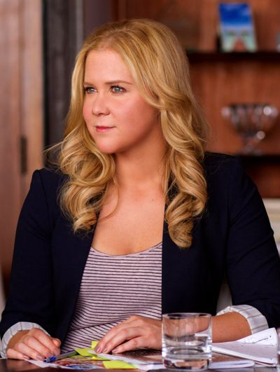 Trainwreck's Amy Schumer looks off camera