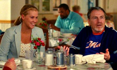 Trainwreck's Amy Schumer has a meal with Colin Quinn, her dad