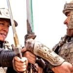Dragon Blade's Jackie Chan and John Cusack fight one-on-one in ancient China