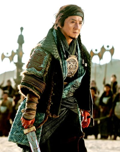 Dragon Blade's Jackie Chan faces deadly opponent in one-on-one battle in ancient China