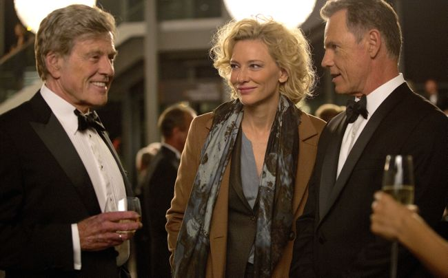 Truth's Robert Redford, Cate Blanchett, Bruce Greenwood chat at black-tie cocktail party