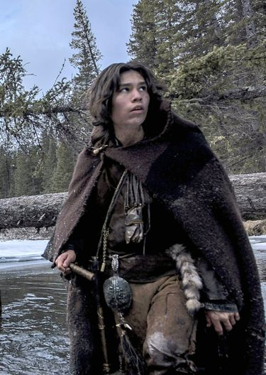 Revenant's Forrest Goodluck wades in mountain stream