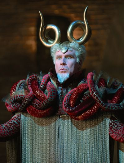 Zoolander 2's Will Ferrell in absurd costume as the villianous Mugatu