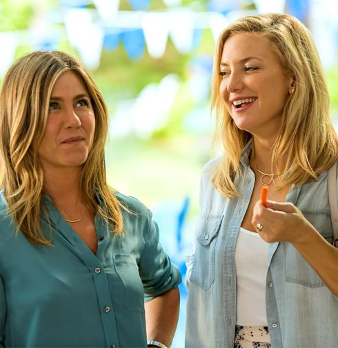 Mother's Day's Jennifer Aniston, Kate Hudson chat