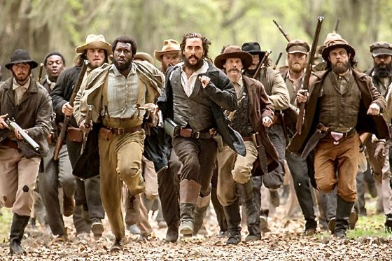 Free State of Jones' Matthew McConaughey leads charge of Knight Company during Civil War