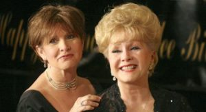 Bright Lights' Carrie Fisher poses with Debbie Reynolds
